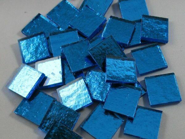 Turquoise Blue Mirror Tiles