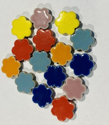 Ceramic Flowers - Assorted Colors