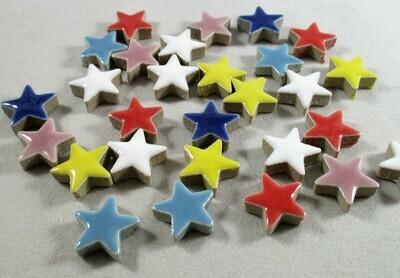 Ceramic Stars - Assorted Colors