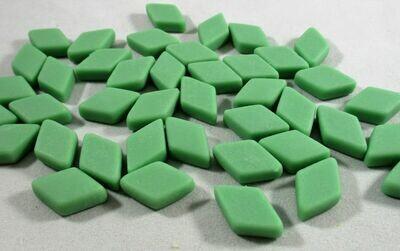 Mint Green Diamond Tiles - Molded Glass