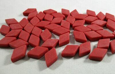 Red Diamond Tiles - Molded Glass