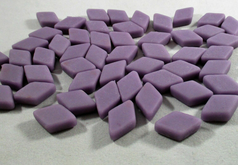 Purple Diamond Tiles - Molded Glass