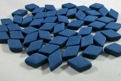 Midnight Blue Diamond Tiles - Molded Glass