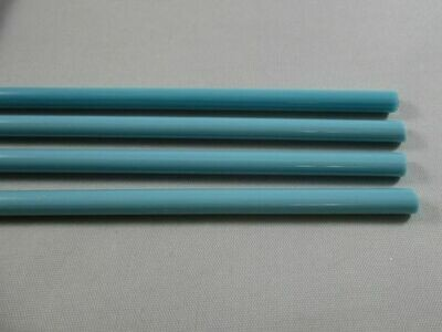 Turquoise Blue Glass Rods
