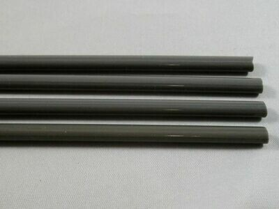 Dark Gray Glass Rods