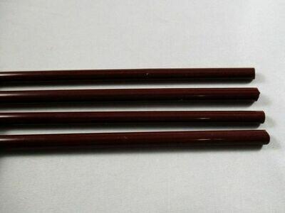 Dark Chestnut Glass Rods