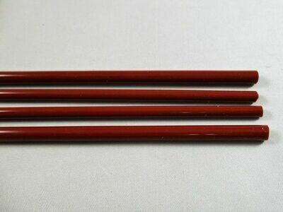 Light Chestnut Glass Rods