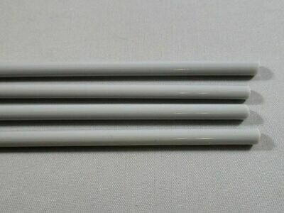 Pearl Gray Glass Rods