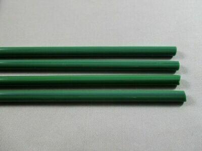 Dark Green Glass Rods