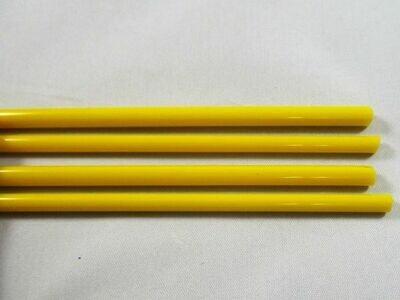 Lemon Yellow Glass Rods