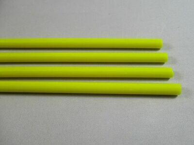 Light Lemon Glass Rods