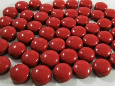 Red Earth Glass Dots