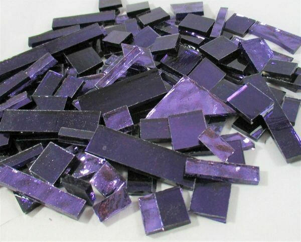 Grape & Violet Mirror Mix Offcuts 1/2 Lb