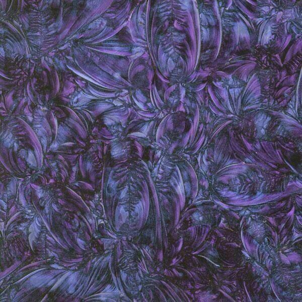 Blue & Violet Van Gogh Sheet