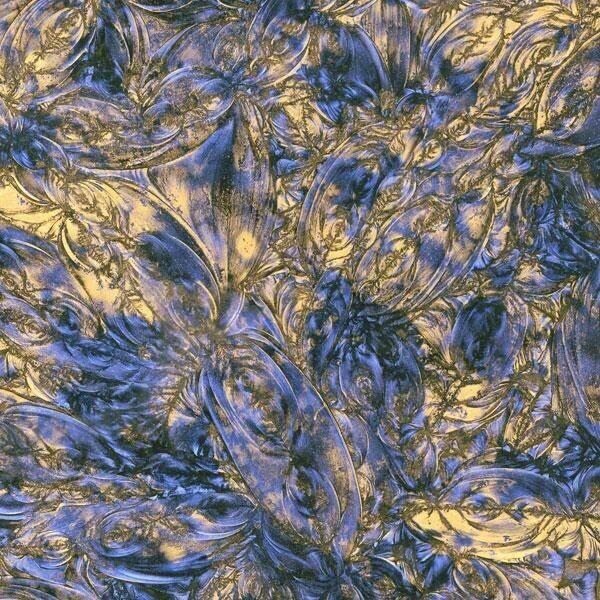 Blue & Bronze Van Gogh Sheet