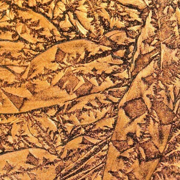 Copper Sparkle Van Gogh Sheet