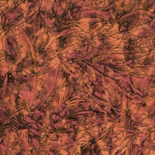 Red & Copper Van Gogh Sheet