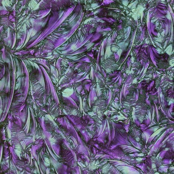 Violet & Bluegreen Van Gogh Sheet