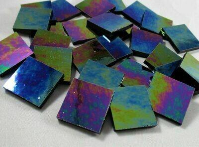 Iridescent Black Tiles