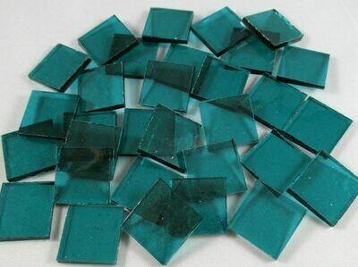 Transparent Bluegreen Tiles