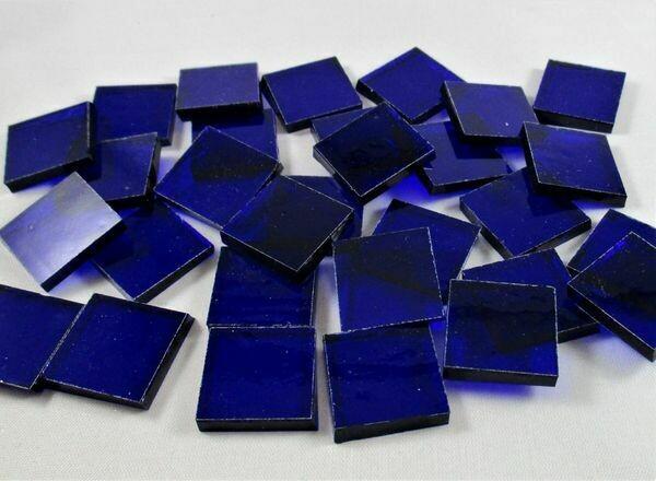 Transparent Cobalt Tiles