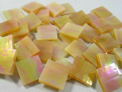 Iridescent Honey Amber Tiles