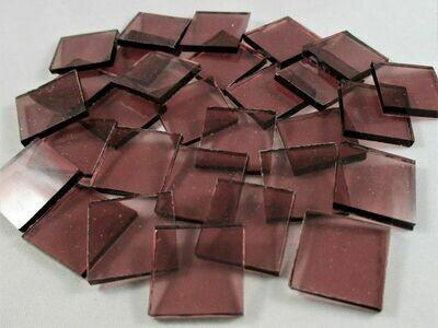 Transparent Purple Rose Tiles