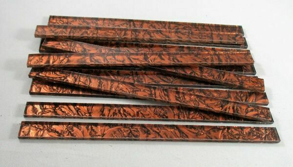 "12 Copper Van Gogh 6"" Strips"
