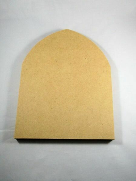 """Small Gothic Arch - 1/2"""" Thick MDF"""