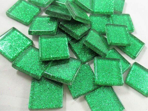 Emerald Glitter Tiles