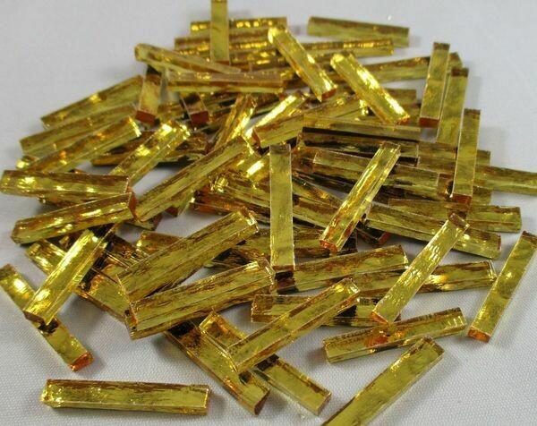 Gold Waves Mirror Skinnies