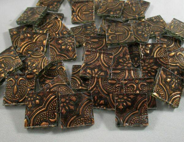 Copper Flora Tiles