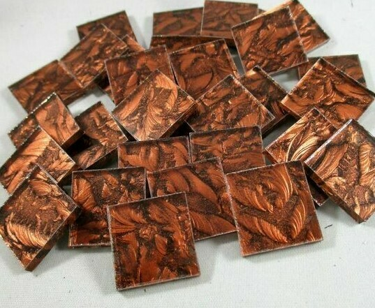 Copper Van Gogh Tiles