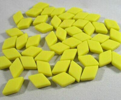 Yellow Diamond Tiles - Molded Glass