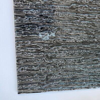 Black Sparkle Rain Glass Sheet