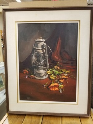 Peter Etril Snider-Original Painting 1980