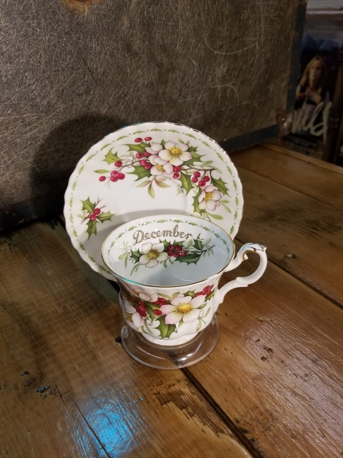Month Cup and Saucer