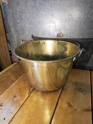 Brass Jelly Pail