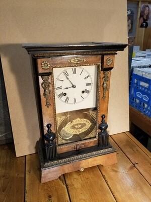 Ansonia 8 Day Shelf Clock