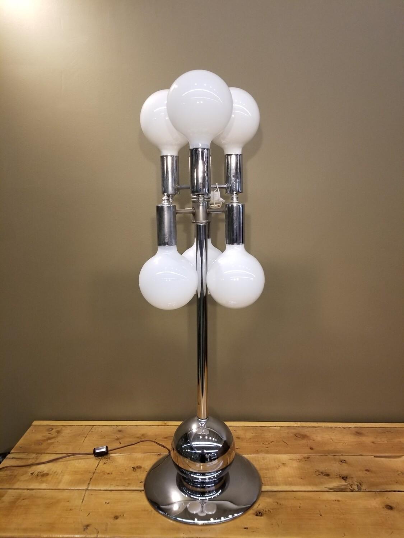 1970s Globe Lamp