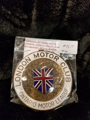 London Motor Club Grille Plate