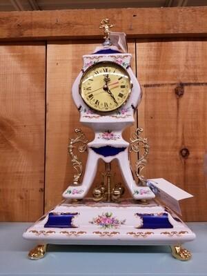 Limoges Porcelain Mantel Clock