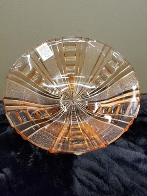 Depression Glass Fruit Bowl