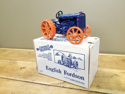 ERTL Tractor - Fordson - Can. Farm Show