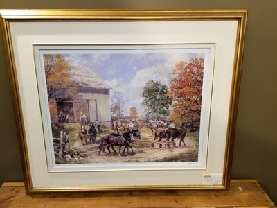 """Peter Etril Snyder -""""Horse Sweep"""" Limited Print"""