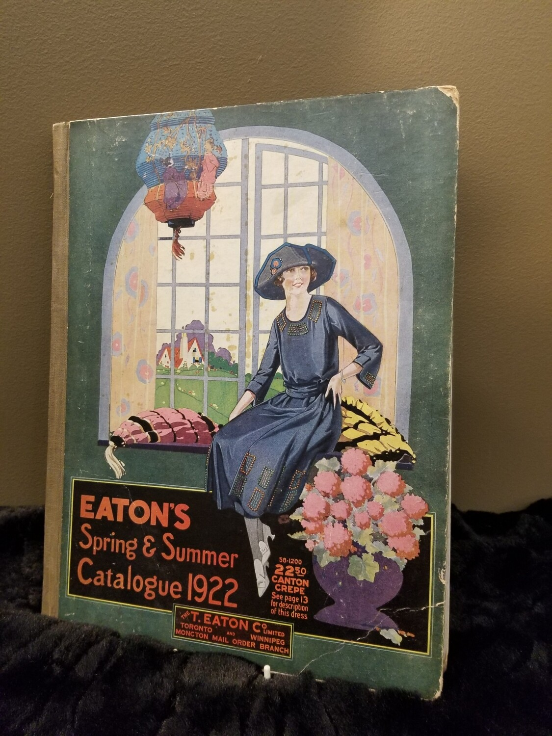 Eatons Catalogue -Spring and Summer 1922