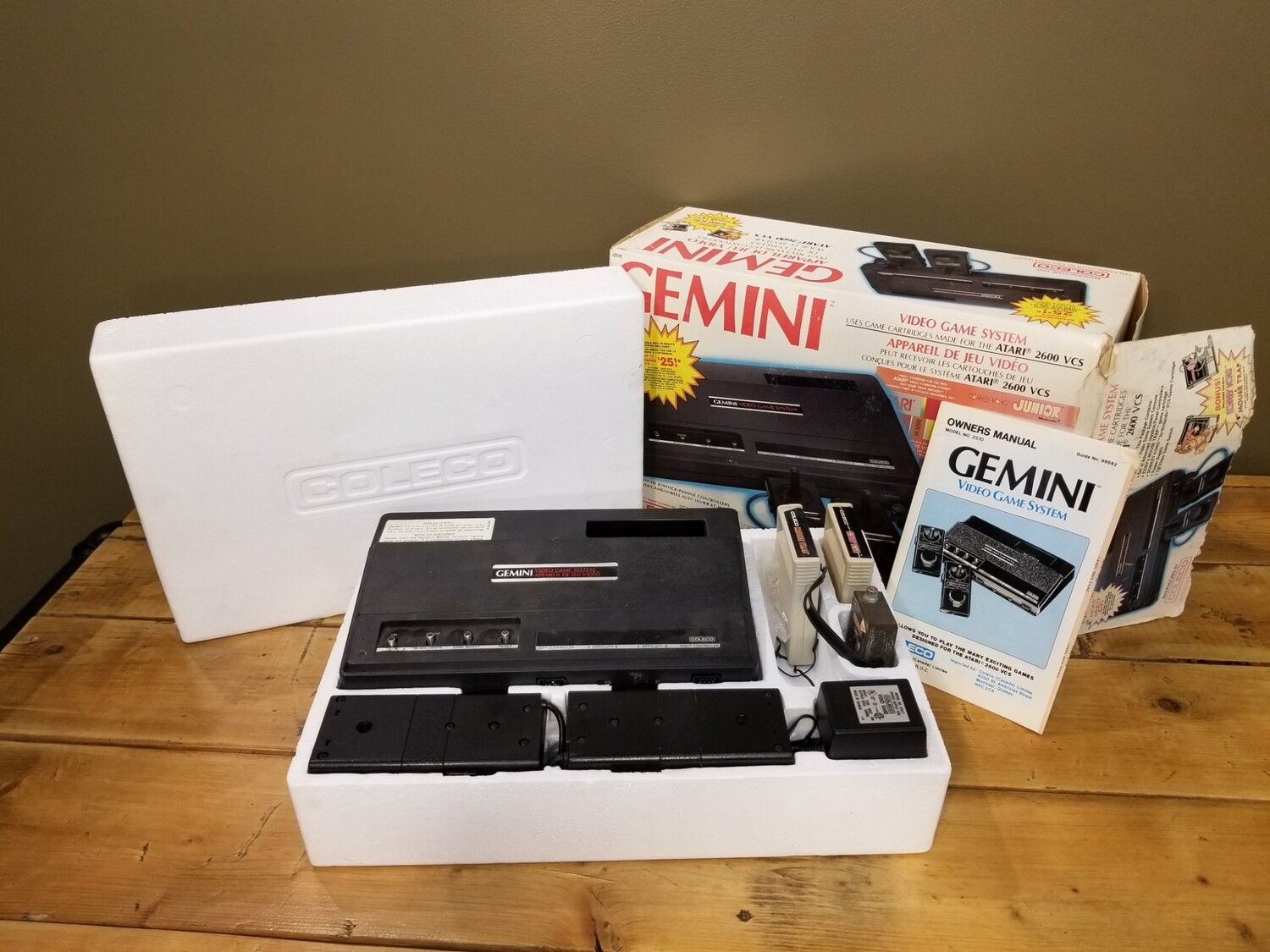 Coleco Gemini Complete Video Game System