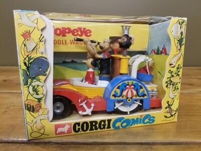 Corgi #802 Popeyes Paddle Wagon