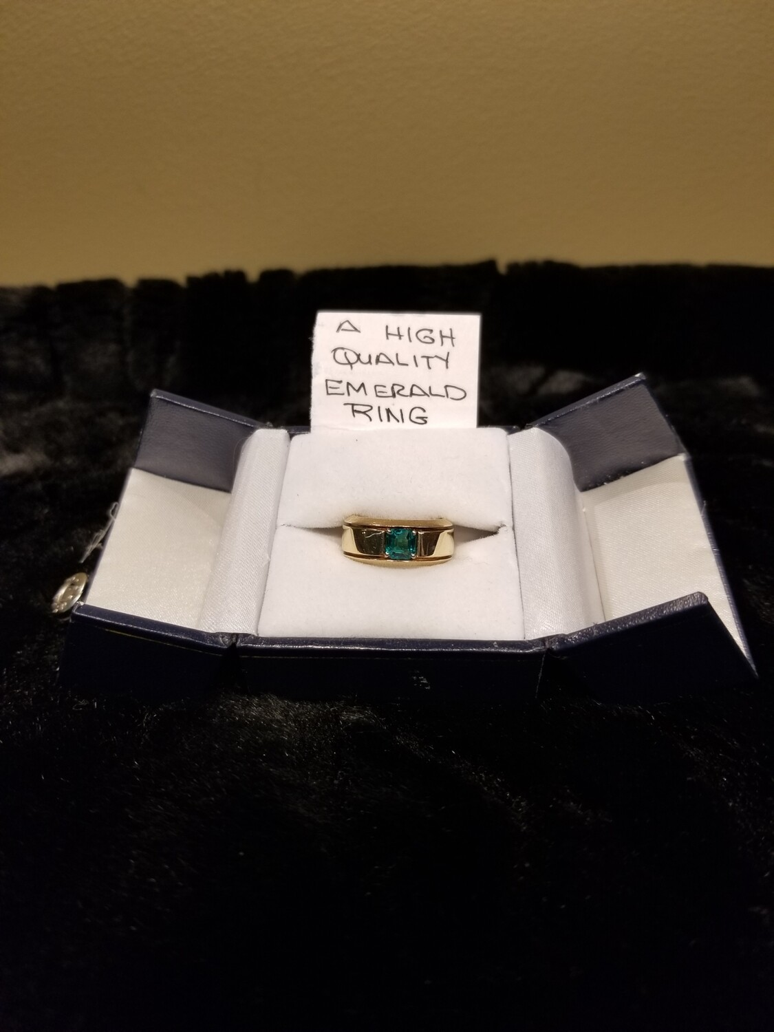 High Quality Emerald Ring