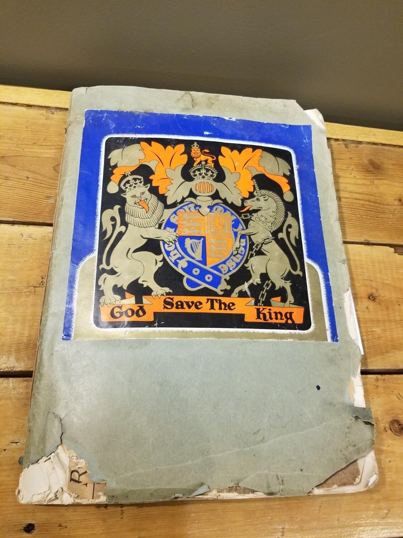 King George Scrapbook - 1939